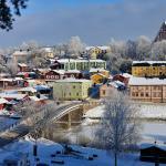 Porvoo city skyline