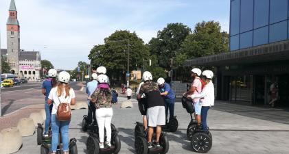 Segway tour Helsinki