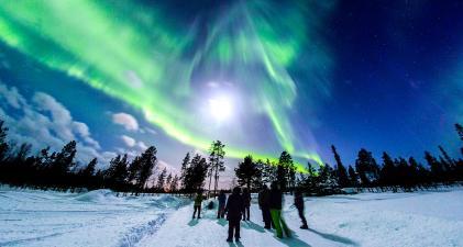 Aurora Borealis Hunt in Lapland