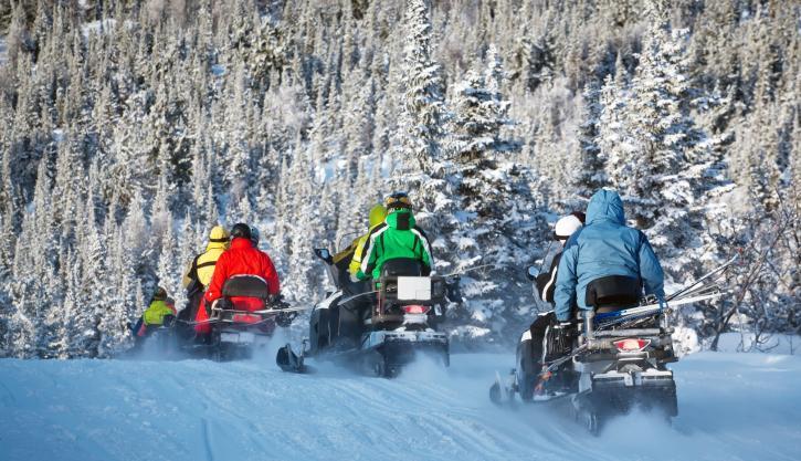 Snowmobile daily tour