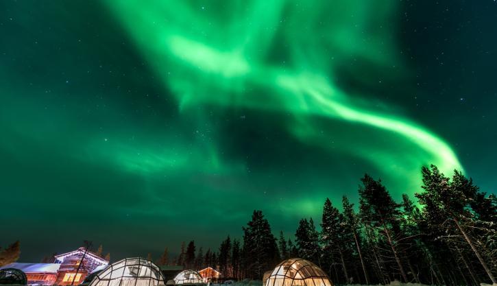 Rovaniemi winter holiday
